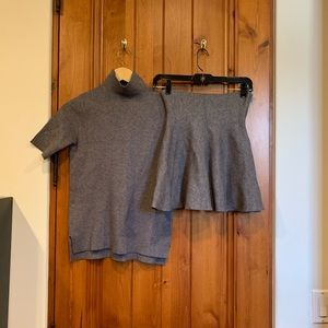 Zara knit set